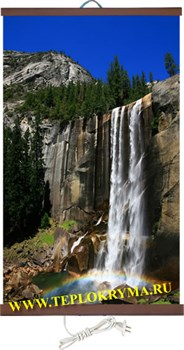 Гибкий настенный обогреватель Водопад 400 Ватт  (2й сорт) - фото 4170