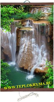 Гибкий настенный обогреватель Водопад Джур Джур 400Вт (2й сорт) - фото 4174