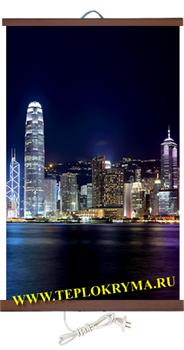 Гибкий настенный обогреватель Гонконг 400Вт  (2й сорт) - фото 4177