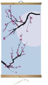 Гибкий обогреватель на стену Сакура 400Вт (ЭО 448/2) - фото 4252