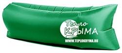 Надувной диван-гамак Тепло Крыма, зеленый - фото 4540