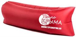 Надувной диван-гамак Тепло Крыма, красный - фото 4552