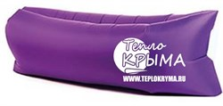 Надувной диван-гамак Тепло Крыма, фиолетовый - фото 4565