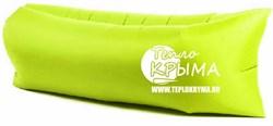 Надувной диван-гамак Тепло Крыма, салатовый - фото 4604