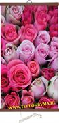 Гибкий обогреватель на стену Розы 400Вт (2й сорт)