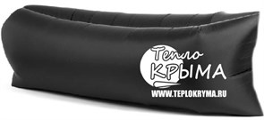 Надувной диван-гамак Тепло Крыма, черный