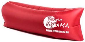 Надувной диван-гамак Тепло Крыма, красный