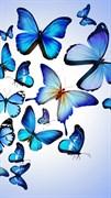 """Москитная сетка - """"Бабочки разноцветные"""""""