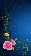 """Москитная сетка """"Цветы лилия"""""""