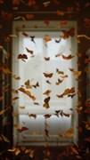"""Москитная сетка - """"Бабочки на окне"""""""