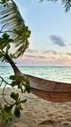 """Москитная сетка - """"Тропики. Пляж. Песок"""""""